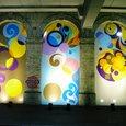 地下鉄のプラットホーム(グロースターロード)
