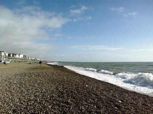 ブライトンのビーチ