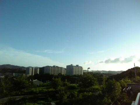 夏の身近な空
