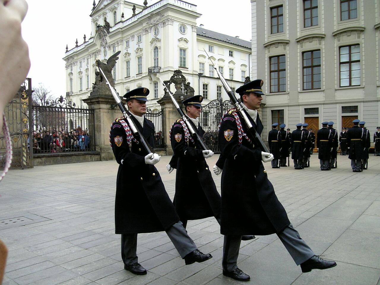 プラハの衛兵交代
