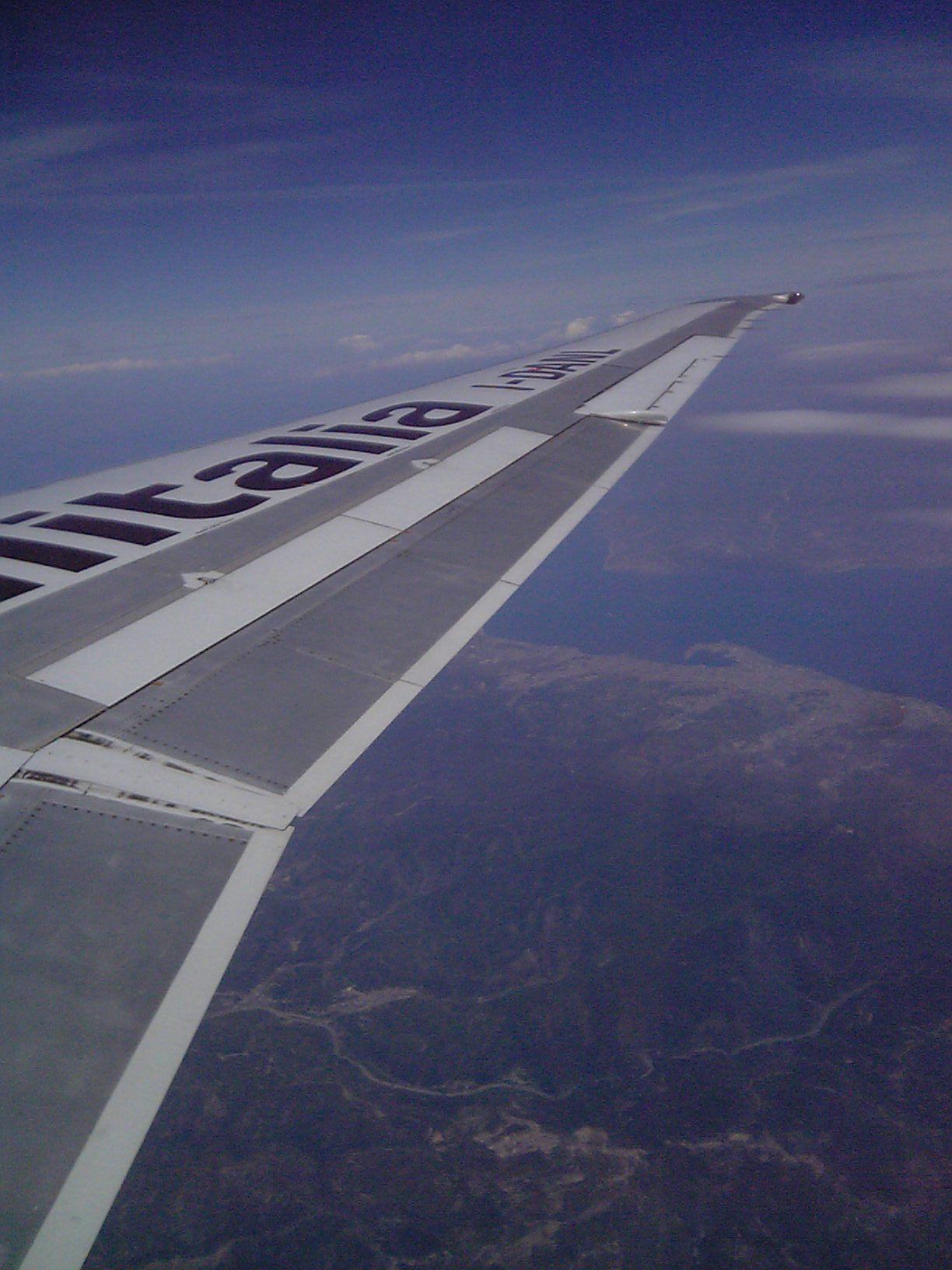飛行機に乗りたい