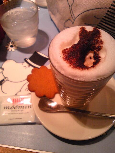 ムーミンのカフェ