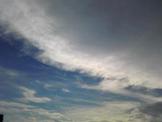 今日のお空