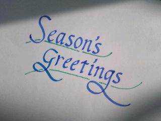 季節のご挨拶