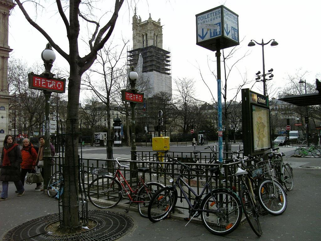 地下鉄 in Paris
