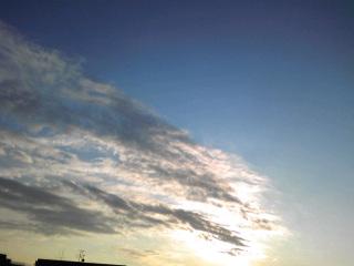 流れる雲〜