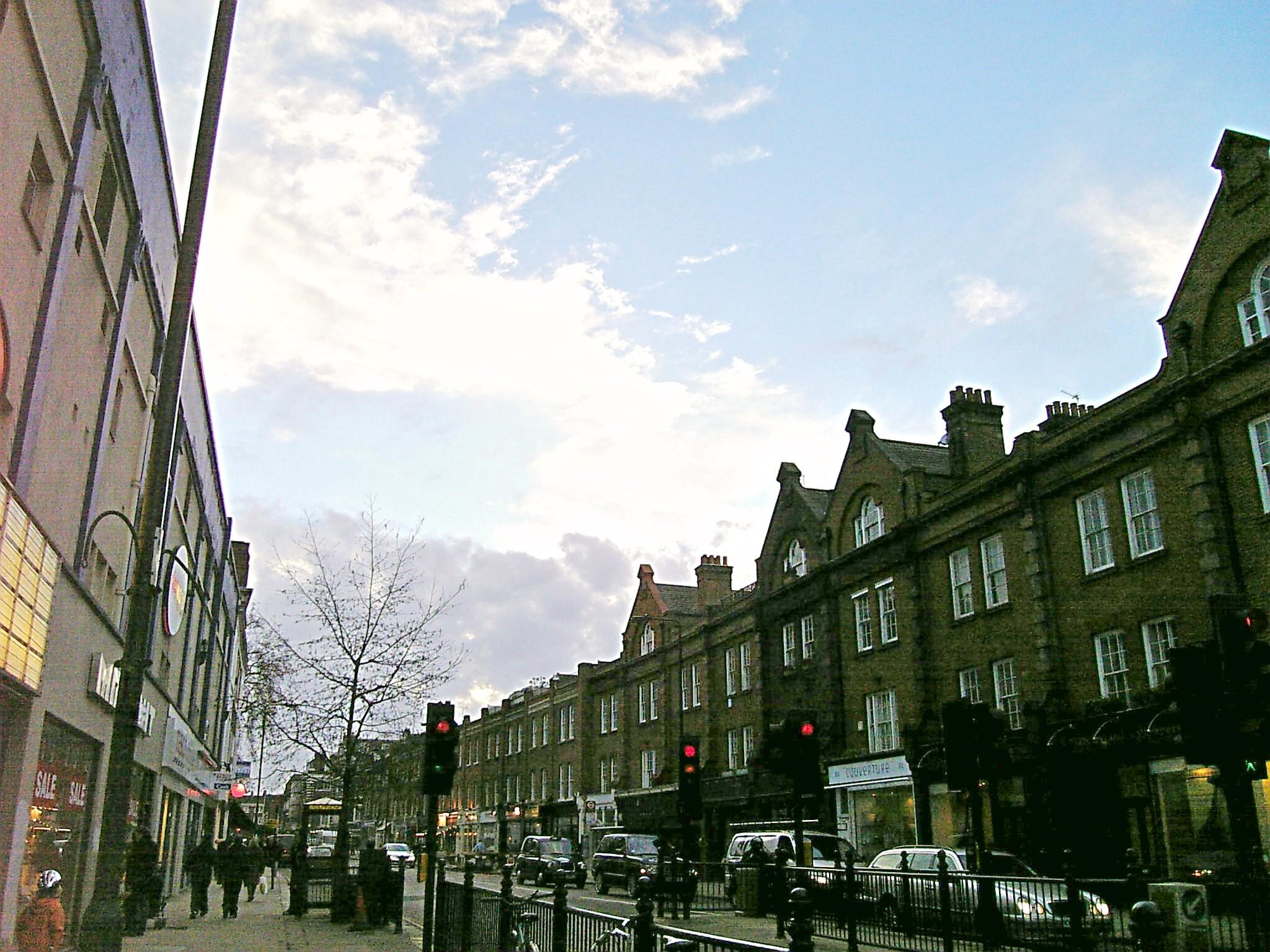 ロンドンっぽい!?